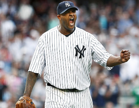 CC Sabathia started game one, A.J. Burnett game two