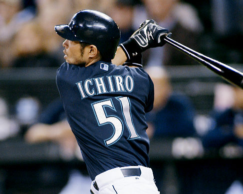 Ichiro blasted the game-winning home run on Sept. 18