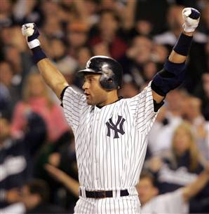 Derek Jeter is three hits away from being the all-time Yankee hits leader