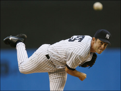 Mike Mussina always gave the Yanks a shot to win when he took the hill