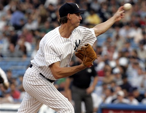 Randy Johnson was winless as a Yankee in October