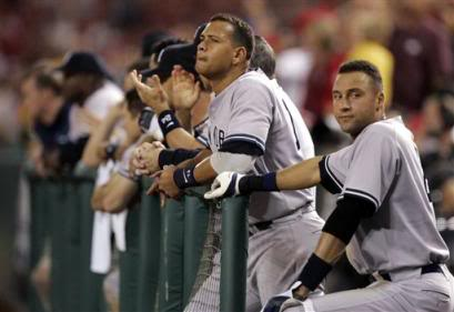 In 2005, the Yankees were knocked out of the playoffs by the Angels in the ALDS