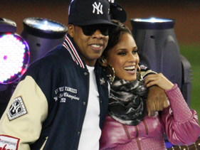 Jay Z and Alicia Keys performed before Game 2 of the World Series