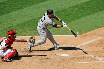 Melky Cabrera came out of his slump with four RBIs in game four