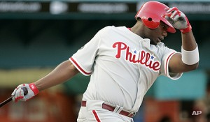 Ryan Howard struck out four times last night