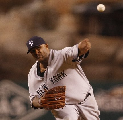 CC Sabathia tossed eight strong innings on three days rest