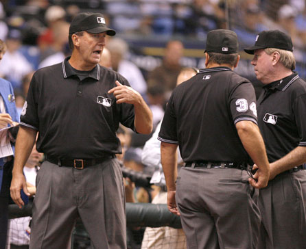 Tim McClelland made some bad calls in game four.