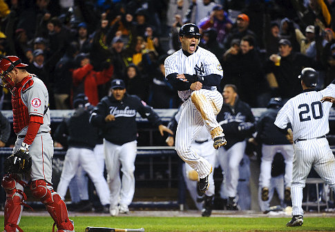 The Yankees won a thrilling game two of the ALCS