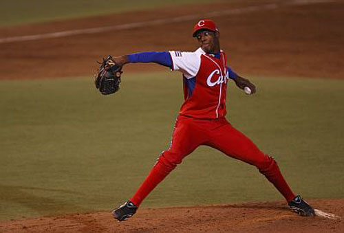 Aroldis Chapman is a highly-touted free agent