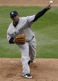 CC Sabathia will pitch in short rest for the second time this postseason