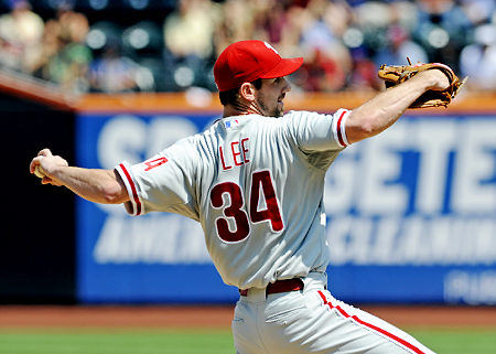 Cliff Lee pitched great in game one