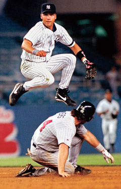 Derek Jeter won ROY in 1996