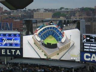 A Yankee Stadium Cake!