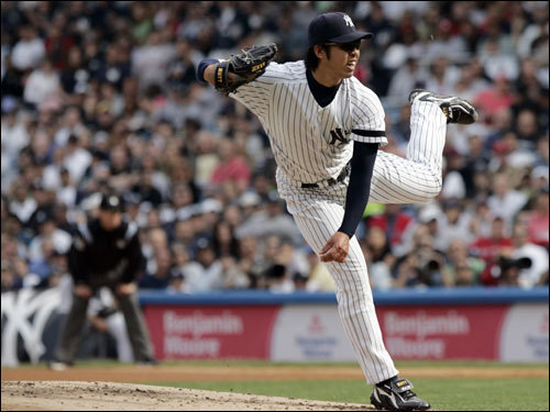 Kei Igawa was not what the Yankees hoped for.