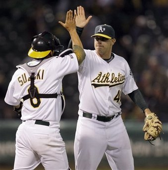 Oakland's Andrew Bailey won AL Rookie of the Year