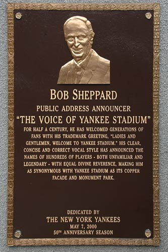 Sheppard's monument in the park