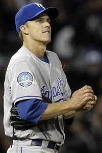 When I saw him, Greinke was not impressive