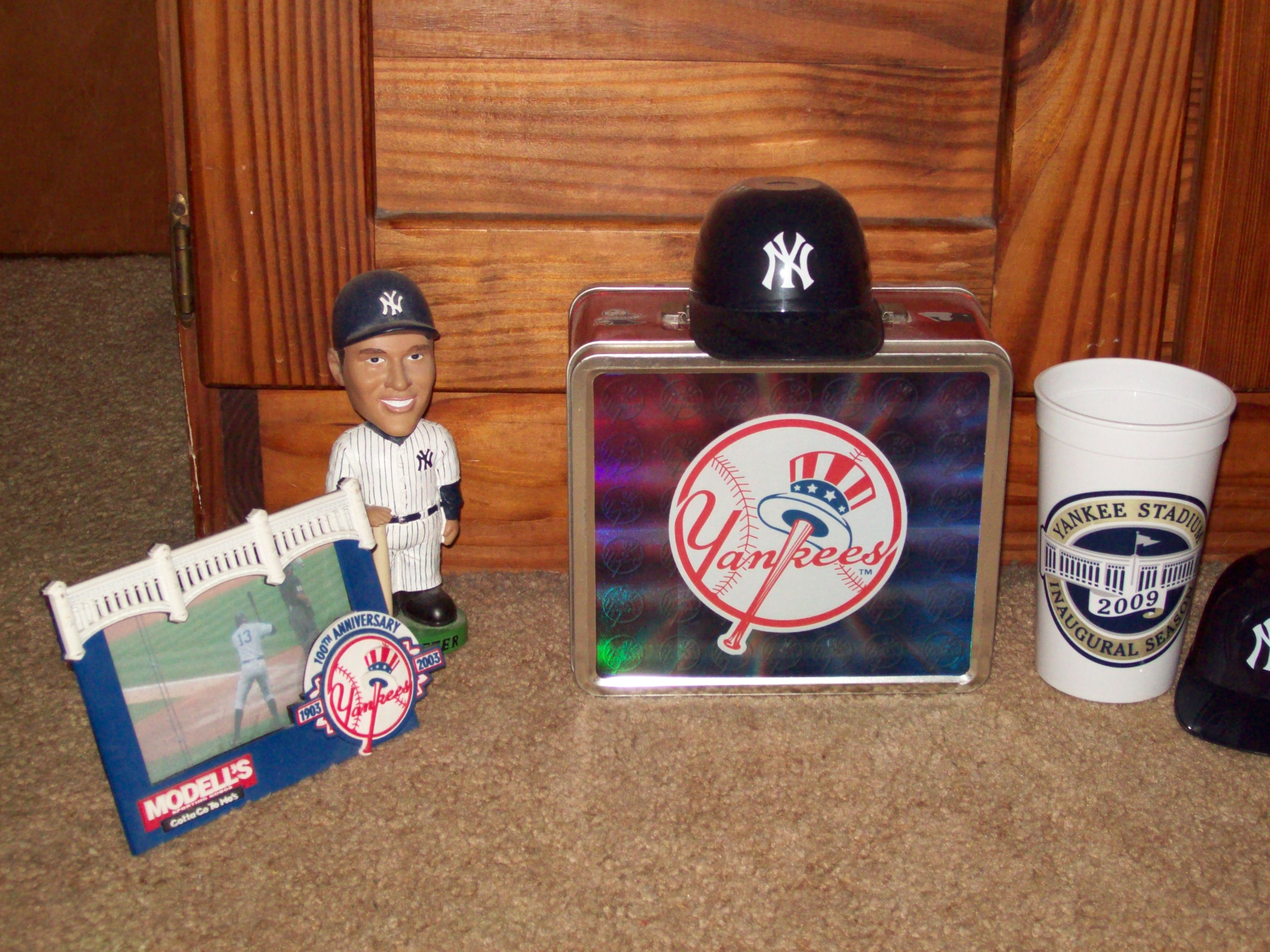 A very small sample of my Yankee collection
