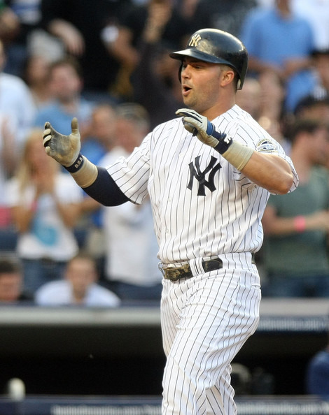Nick Swisher played right field for the Yanks in '09