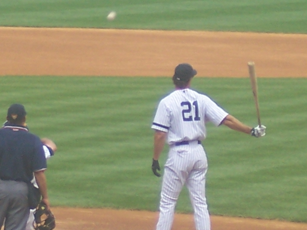 This was my view of the field watching O'Neill play on Old Timer's day in 2007