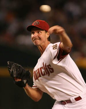 Randy Johnson announced his retirement yesterday