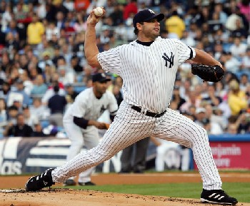 It was Roger Clemens's 2nd start back with New York