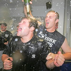 The Yankees won the Wild Card in 2007