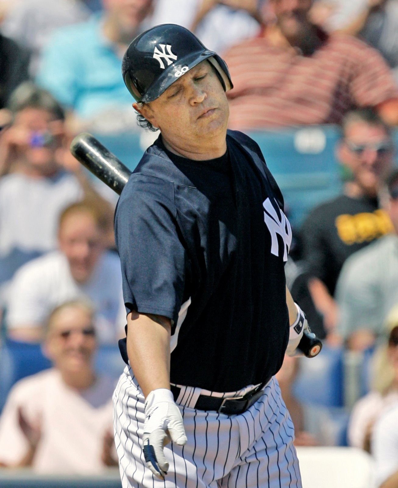 Billy Crystal struck out in his only career at-bat