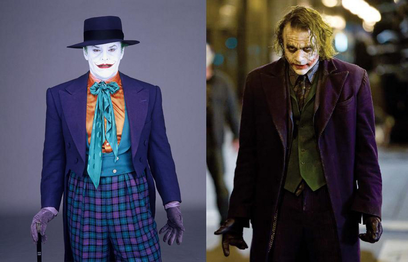 Jack was the Joker before Heath