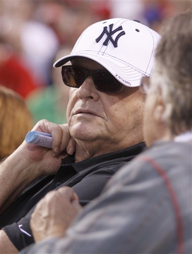 Jack Nicholson is a Yankee fan for life