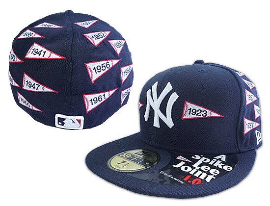 Spike Lee designed this awesome hat