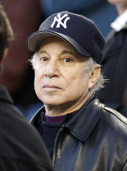 The legendary Paul Simon loves the Yanks