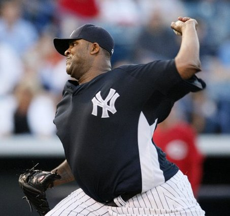 CC Sabathia fanned 8 Tigers this afternoon