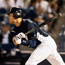 Derek Jeter was 1-for-3 with two RBIs vs. Detroit