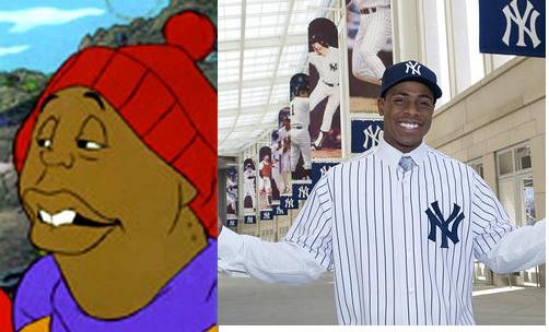 Curtis Granderson to play Mushmouth....???