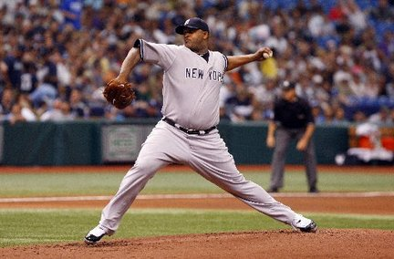 CC Sabathia flirted with a no-hitter today