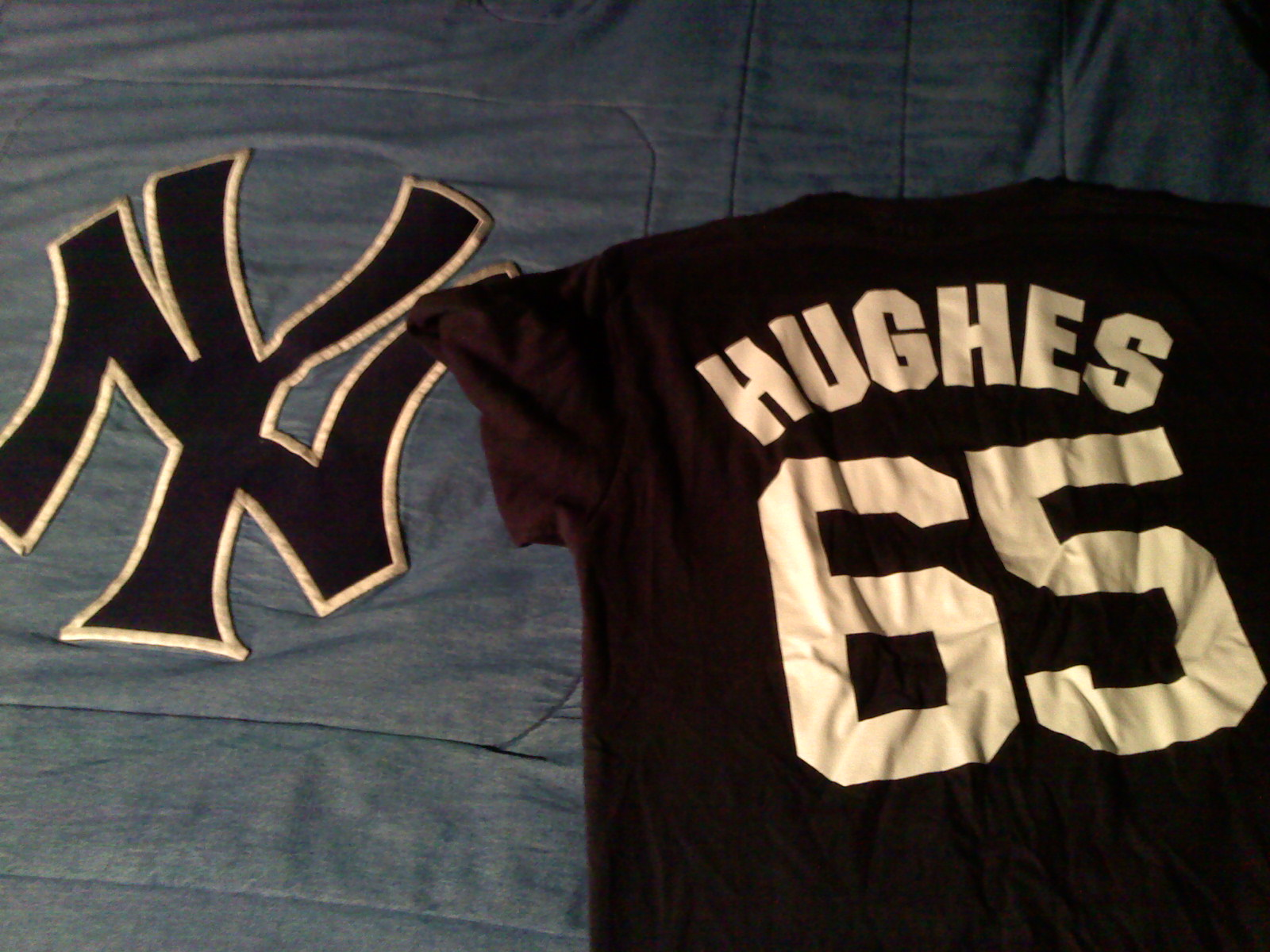 I wore this today and Hughes came close to a no-hitter!
