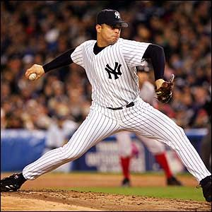 Javier Vazquez returned to the Yankees this year