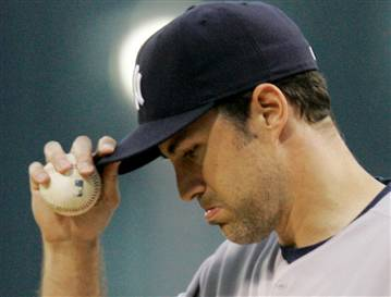 In September of '01, Mussina almost pitched a no-no