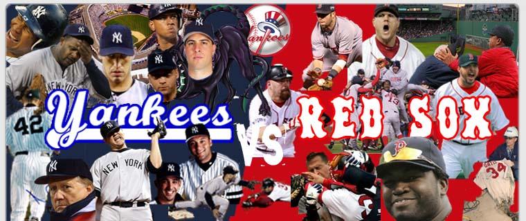 The Yanks play the Sox tomorrow!!!!
