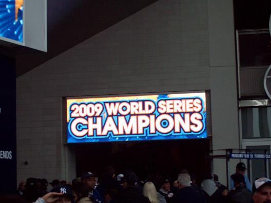 2009 World Series Champs!