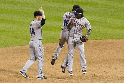 The Mets beat the Cardinals in 20 innings Saturday