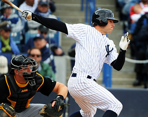 Brett Gardner was 2-for-4 with a homer today