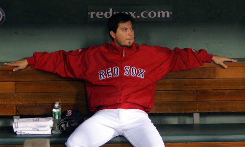 Josh Beckett got rocked, but hurt some Yankees tonight