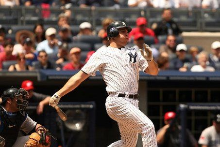Historically, Mark Teixeira hits well in the month of May