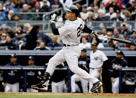 Mark Teixeira hit a BOMB today!