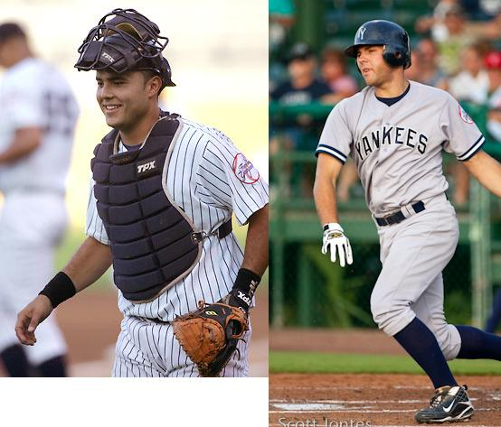 Montero or Romine should get called up in Posada's absence
