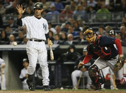 Jorge Posada has a hairline fracture on his foot