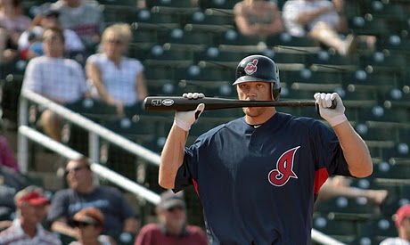 Former Yankee Shelley Duncan is now on the Indians