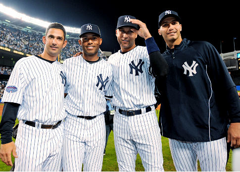 The Core Four Yankees...how much longer...?